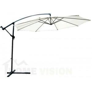 Чадър с метална стойка Top Garden