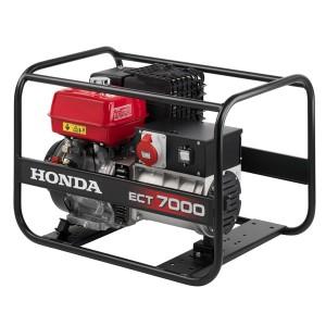Моно/трифазен бензинов генератор Honda ECT 7000