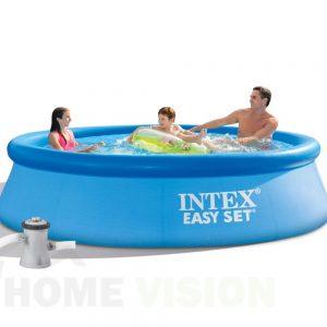 Надуваем басейн INTEX Easy Set с филтърна помпа 305 см