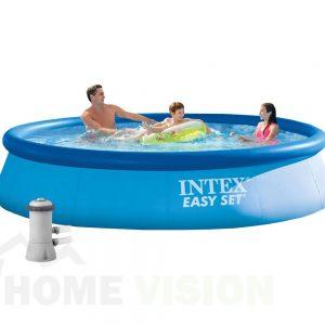 Надуваем басейн INTEX Easy Set с филтърна помпа 366 см