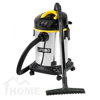 Прахосмукачка за сухо и мокро почистване с допълнителен ел. контакт Lavor Venti XE