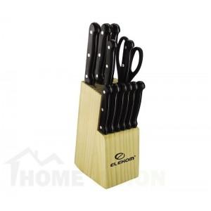 Комплект ножове и ножица Елеком ЕК-13К