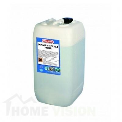 Препарат за блясък и защита за интериора и каросетията на автомобила с органична вакса Diamant Plast Four