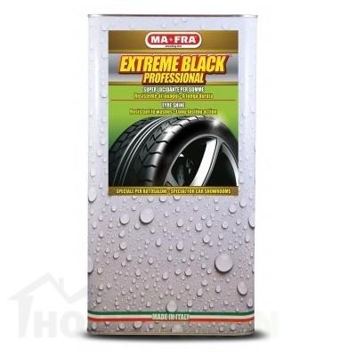 Възстановяваща вакса за гуми и пластмасови повърхности за пневматикаFast & Black Liquido