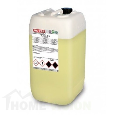 Препарат за почистване на цимент Cemsolv