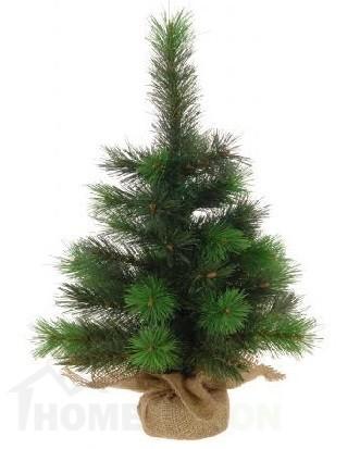Коледна изкуствена елха 45см
