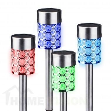 Соларна лампа за градина с променящи се цветове SS-6101 LED