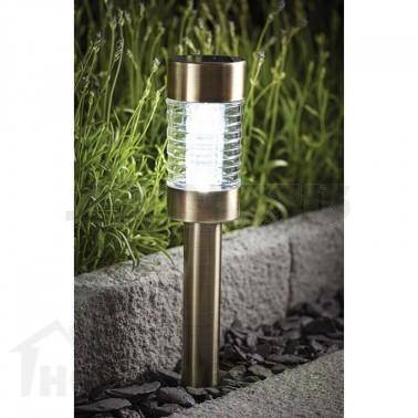 Соларна лампа метал/стъкло SS-6031
