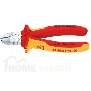 Клещи резачки KNIPEX VDE изолирани 1000 V KNIPEX Германия