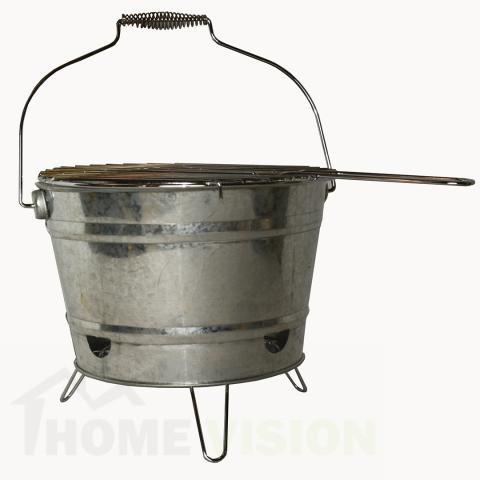 Барбекю с формата на кофа