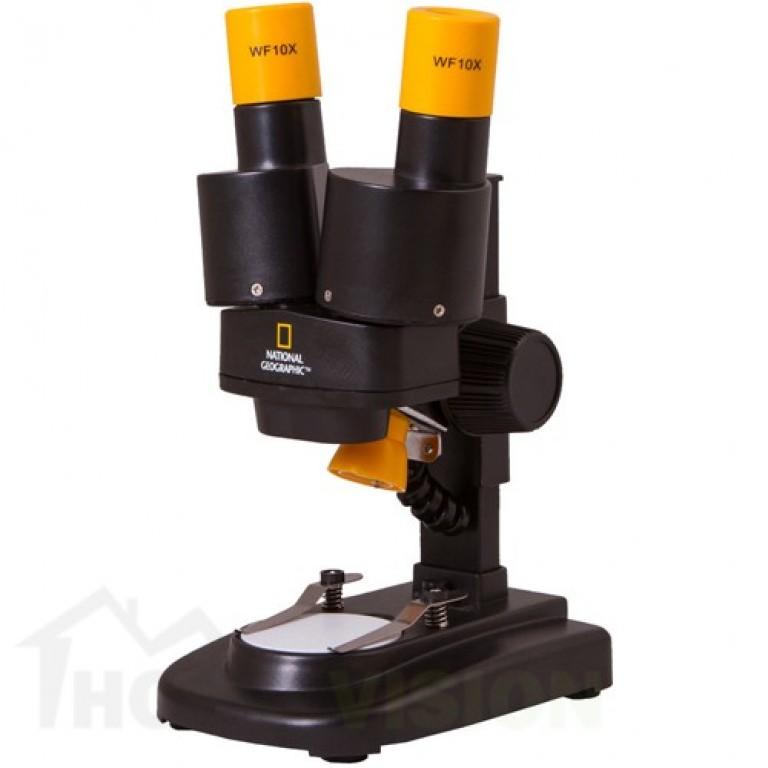 Микроскоп за деца с 3D изображение Bresser National Geographic 20x Stereo