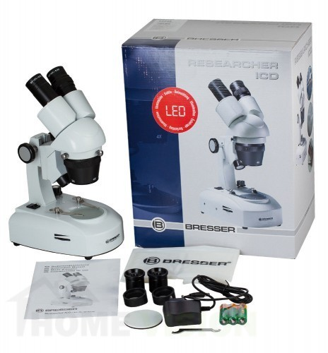 Стереомикроскоп Bresser Researcher ICD LED 20–80x