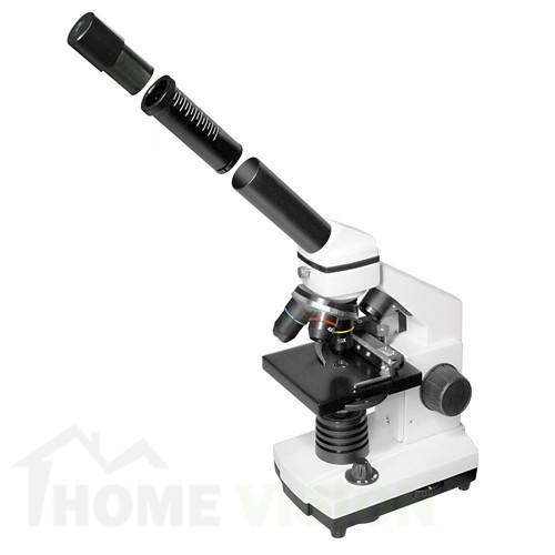 Комплект микроскоп с HD камера Bresser Biolux NV 20x-1280x