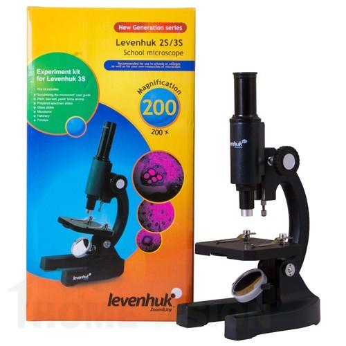 Монокулярен микроскоп Levenhuk 2S NG