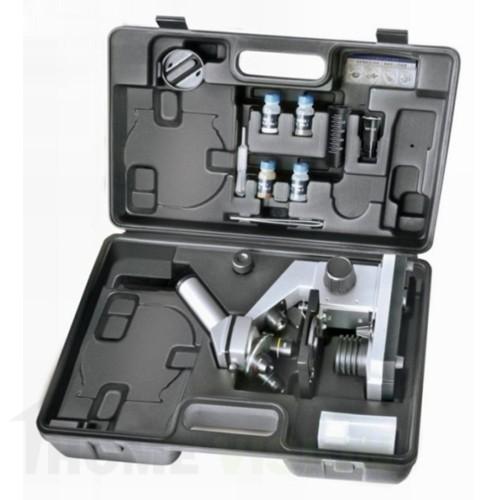 Микроскоп с комплект аксесоари и калъф за съхранение Bresser Junior Biolux CA 40x–1024x
