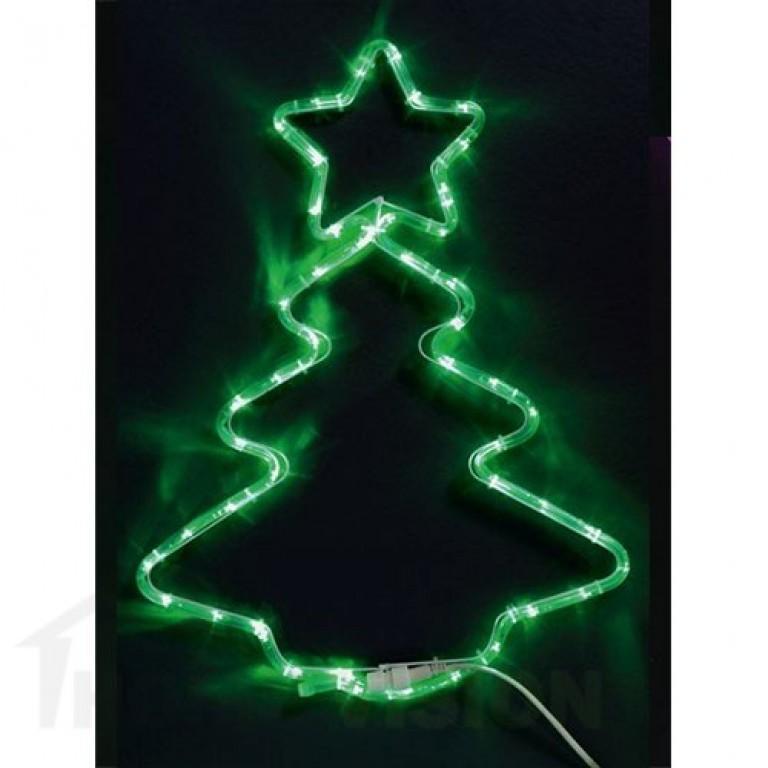 Светеща фигура елха 55см