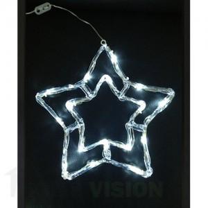 Светеща фигура звезда 40см