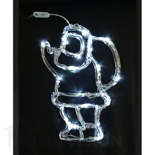 Светеща фигура Дядо Коледа 40см