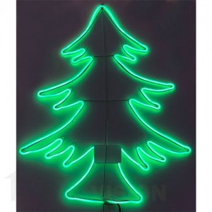 Светеща фигура елха НЕОН 67см