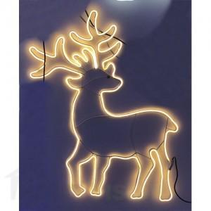Светеща фигура елен НЕОН 90см