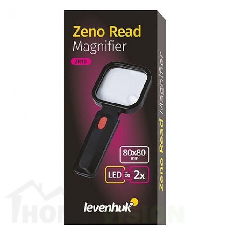 Бяла лупа Levenhuk Zeno Read ZR10