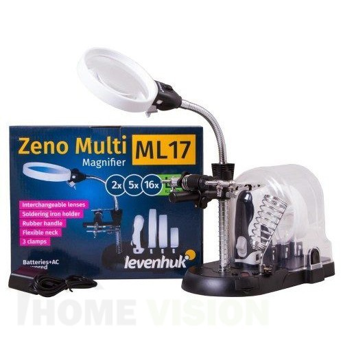 Черна лупа Levenhuk Zeno Multi ML17