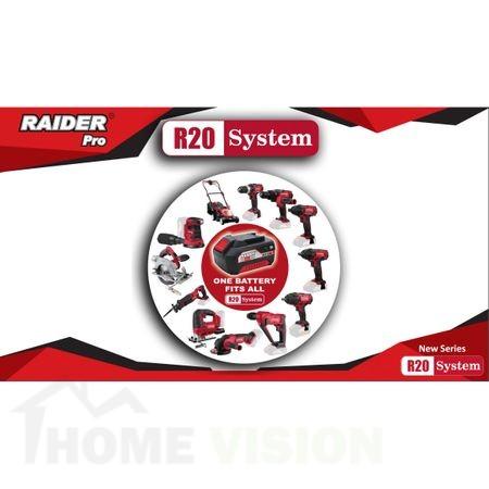Комплект батерия Li-ion 2Ah и зарядно 1h за серията Raider RDP-R20 System