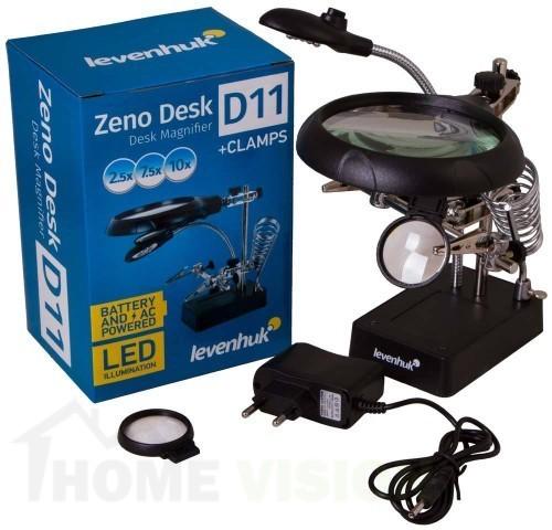 Лупа Levenhuk Zeno Desk D11