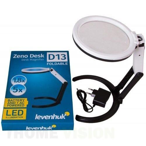 Лупа Levenhuk Zeno Desk D13