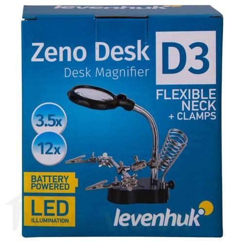 Лупа Levenhuk Zeno Desk D3