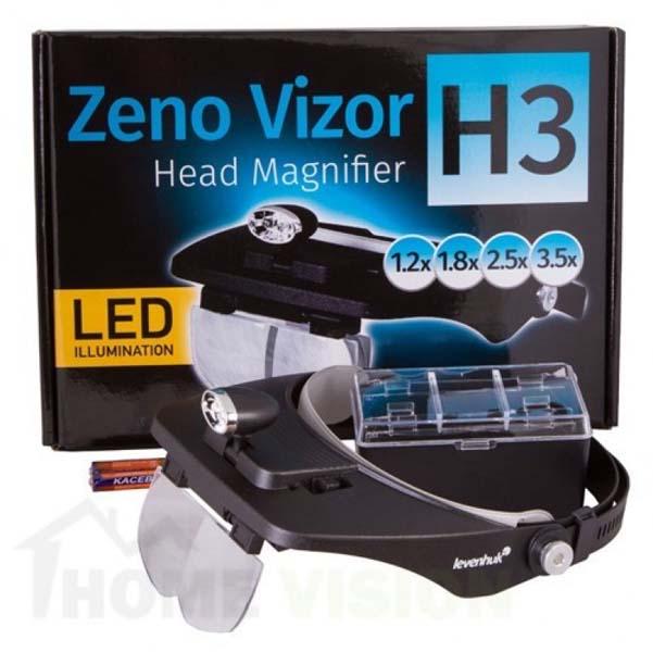 Лупа за глава Levenhuk Zeno Vizor H3