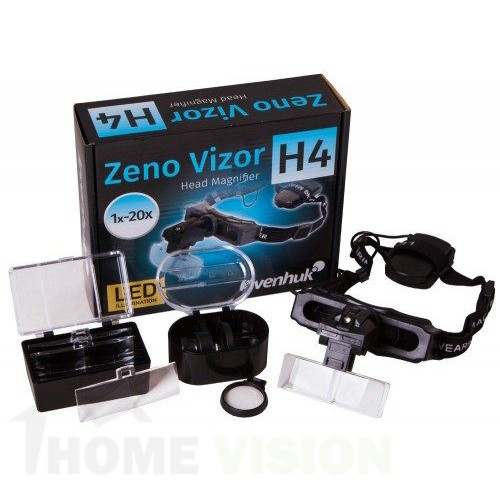 Лупа за глава Levenhuk Zeno Vizor H4