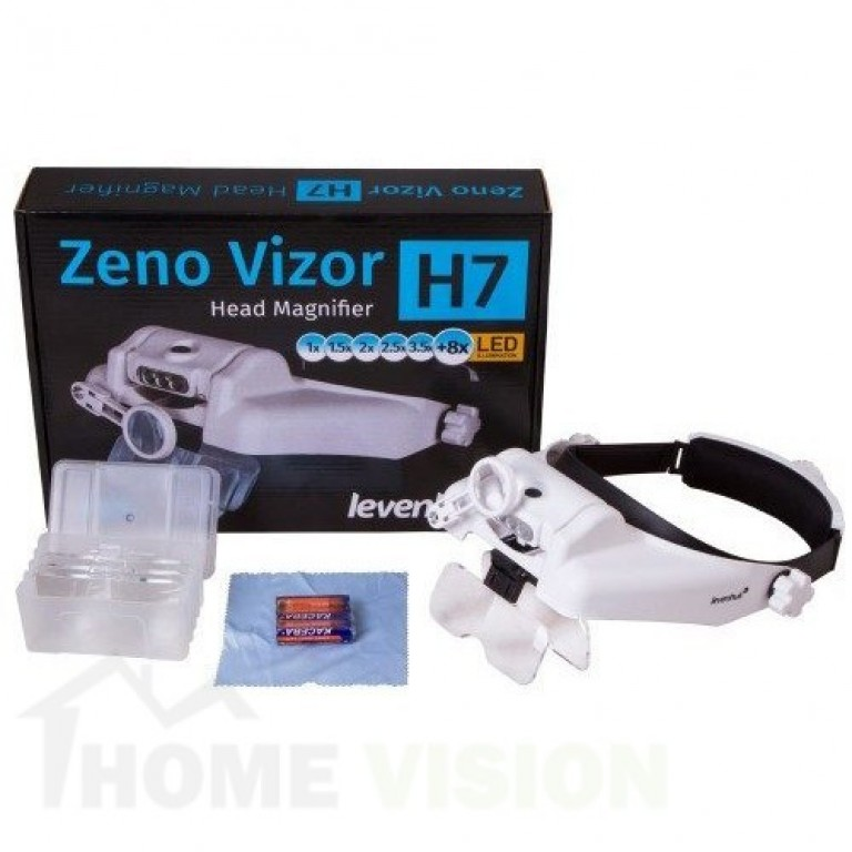 Лупа за глава Levenhuk Zeno Vizor H7