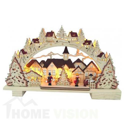 Светеща LED декорация Коледна нощ