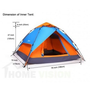 Триместна палатка GO N CAMP