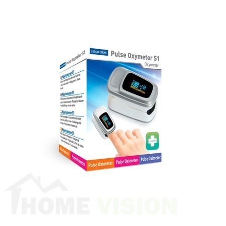 Уред за измерване на пулс и кислород в кръвта Lanaform Pulse Oximeter S1