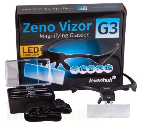 Увеличителни очила Levenhuk Zeno Vizor G3