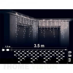 Висулка 200 бели LED /диодни/ лампички
