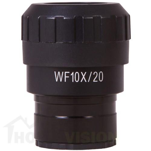 Окуляр с показалец и регулиране на диоптъра Levenhuk MED WF10x/20