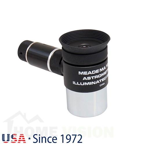 """Безжичен астрометричен окуляр 1,25"""" с осветена решетка Meade серия 4000 12 mm MA"""