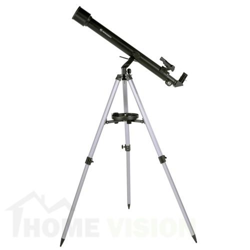 Телескоп Bresser Stellar 60/800 AZ с адаптер за смартфон