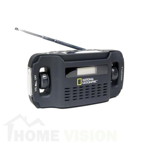 Радио със слънчев панел Bresser National Geographic