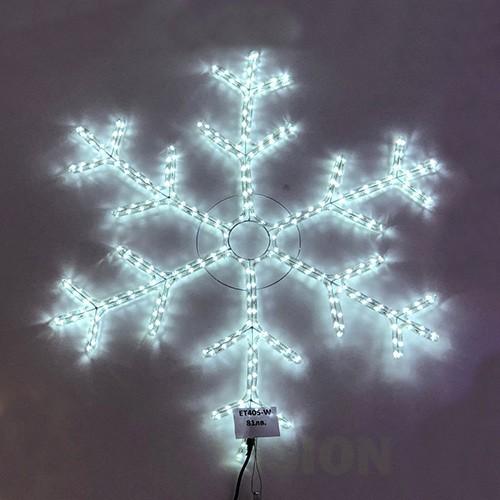 Светеща фигура Снежинка 82см