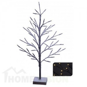 Светещо кафяво дръвче 60см