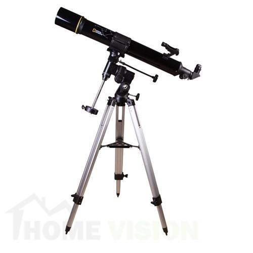 Ахроматен рефракторен телескоп Bresser National Geographic 90/900 EQ3