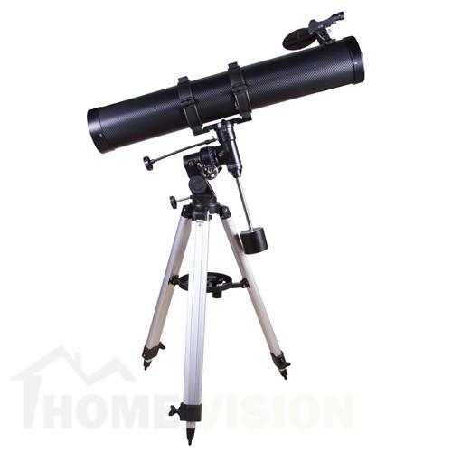 Нютонов телескоп с адаптер за смартфон Bresser Galaxia 114/900
