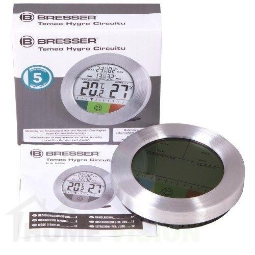Цифров вътрешен термометър Bresser Temeo Hygro Circuitu