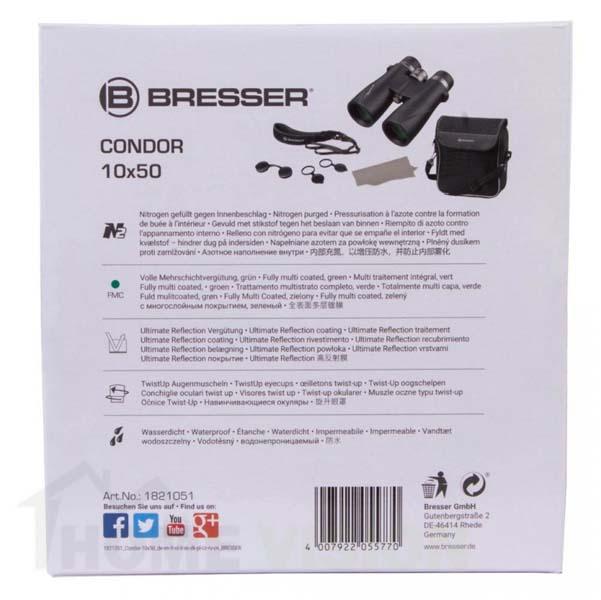 Бинокъл Bresser Condor UR 10x50