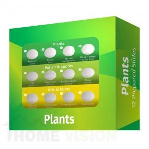Комплект подготвени проби от растения Levenhuk LabZZ P12