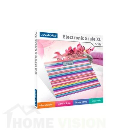 Електронен кантар LANAFORM ELECTRONIC SCALE XL